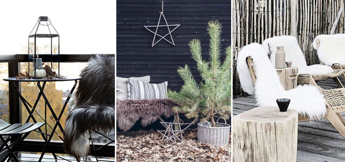 10 beautiful and cosy winter outdoor spaces