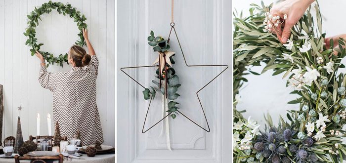 10 inspiring DIY natural Christmas wreaths