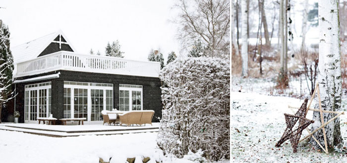 A stunning Scandinavian home, lovingly decorated for Christmas