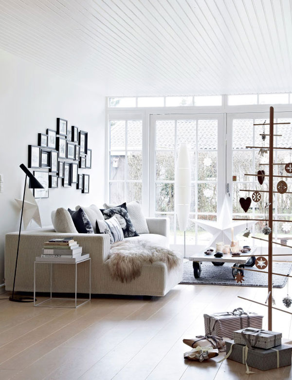 A stunning Scandinavian home, decorated for Christmas   My Cosy Retreat
