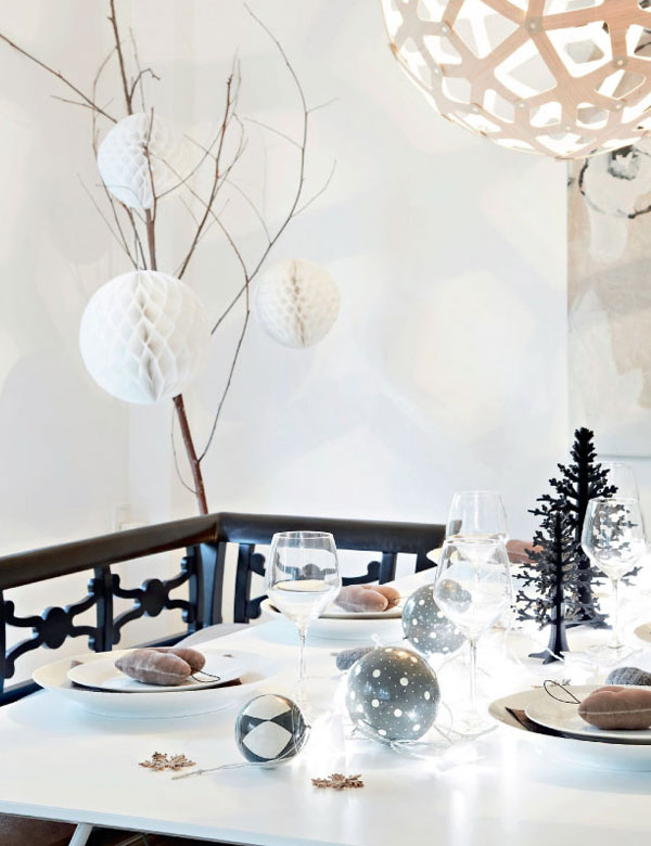 A stunning Scandinavian home, decorated for Christmas | My Cosy Retreat