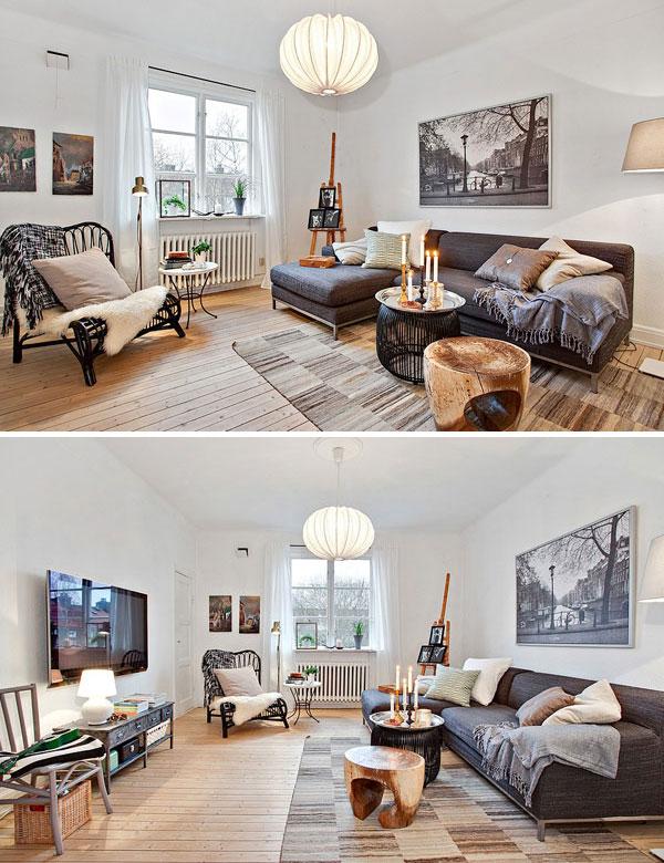 Romantic Scandinavian home in Gothenburg, Sweden | My Cosy Retreat