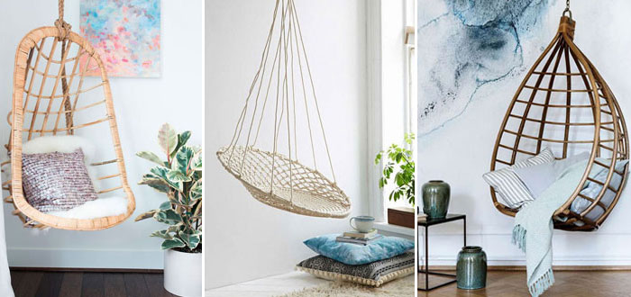 8 awesomely beautiful indoor swing chairs