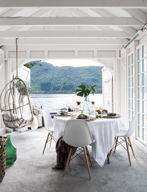 A dreamy lake boat house in Norway | My Cosy Retreat