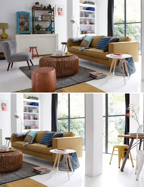 Colorful apartment with pretty rustic garden | My Cosy Retreat