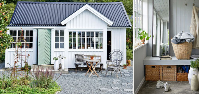 A charming and serene garden cottage in Sweden