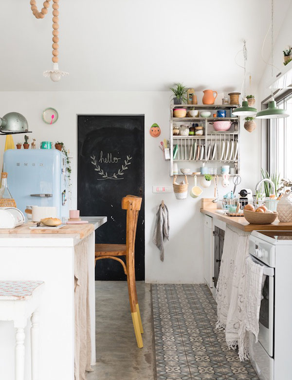 A peaceful eclectic beach house in Biarritz, France | My Cosy Retreat