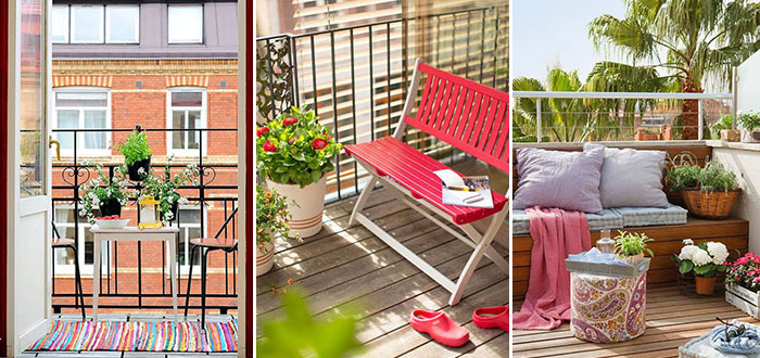 10 gorgeously beautiful small balcony designs