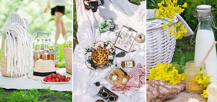 Lovely spring picnic inspiration