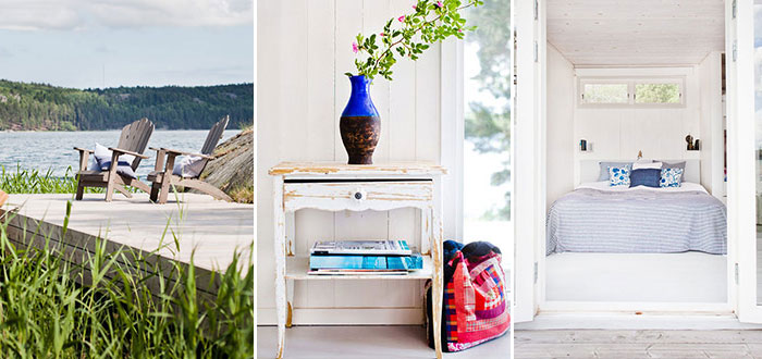 A 15 m² tiny summer cottage in Sweden