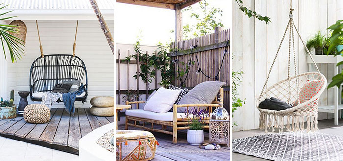 12 dreamy bohemian outdoor spaces