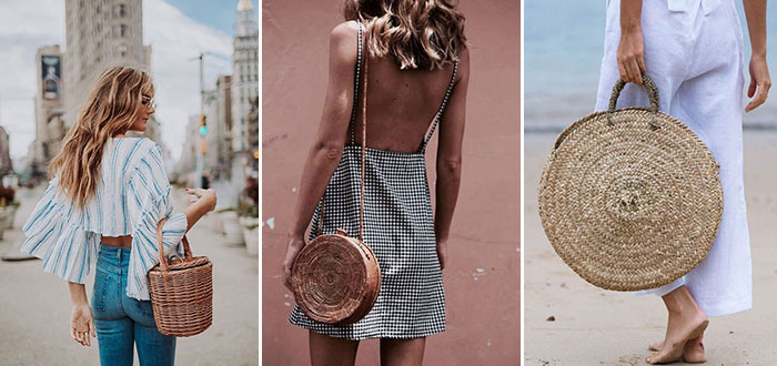 Chic and stylish straw bags for Summer 2017