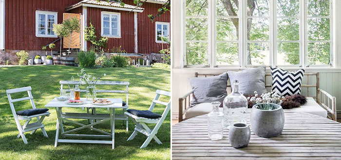 The peaceful Swedish summer cottage of photographer Carina Olander