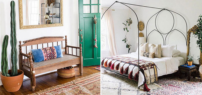 The adorable boho chic home of Carley Summers