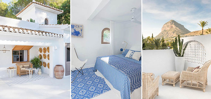 The Spanish white coastal home of interior designer Carlos Serra