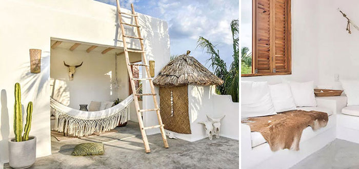 A heavenly tropical retreat on Holbox island, Mexico