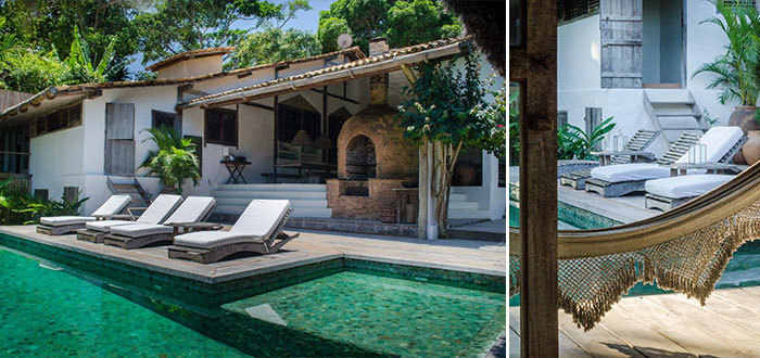 Casa Tiba – a dreamy bohemian chic house for rent in Trancoso, Brazil