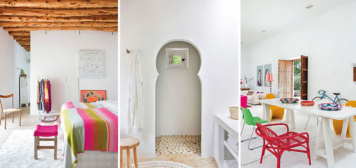 Happy colorful summer home on Ibiza