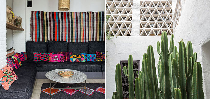 Gorgeous colorful Moroccan home, located in the city of Taroudant