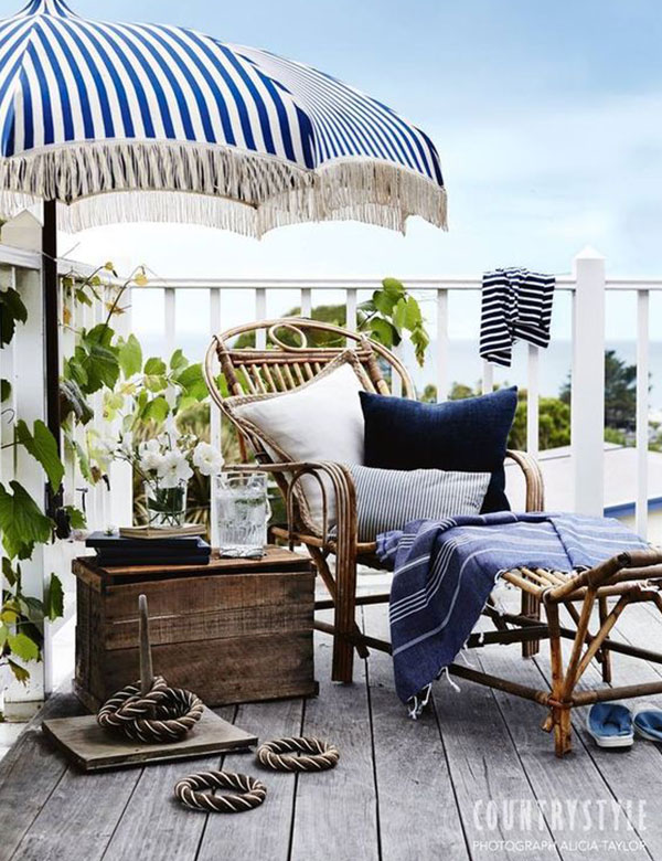 9 beautiful indigo coastal decor inspirations | My Cosy Retreat