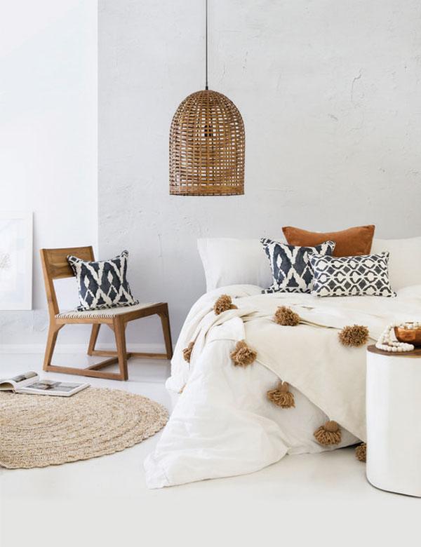 11 absolutely stunning minimalist boho bedroom designs | My Cosy Retreat