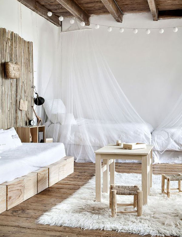 11 absolutely stunning minimalist boho bedroom designs | My Cosy Retreat