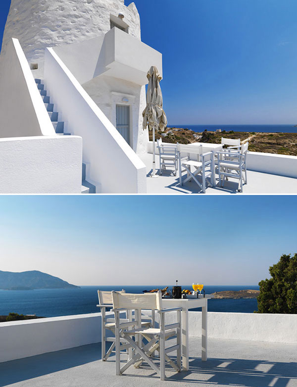 A restored old windmill, turned into a dreamy holiday escape in Greece | My Cosy Retreat