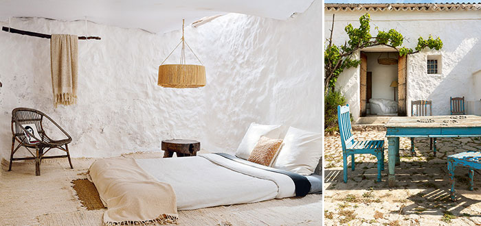 A charming 400-year old cave house on Ibiza