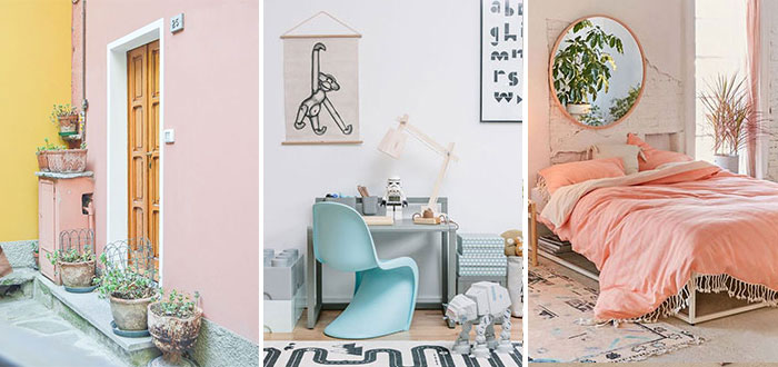 Pastel color inspiration for your home decor
